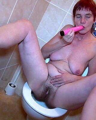 OldNannY Horny Mature Henrietta Solo Masturbation