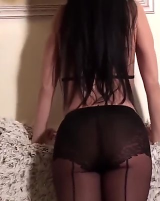 My Dirty Hobby - French hot brunette teasing