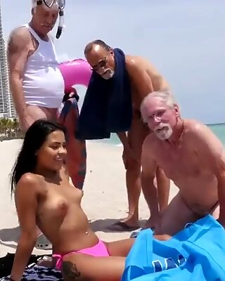 Milf loves young Staycation with a Latin Hottie