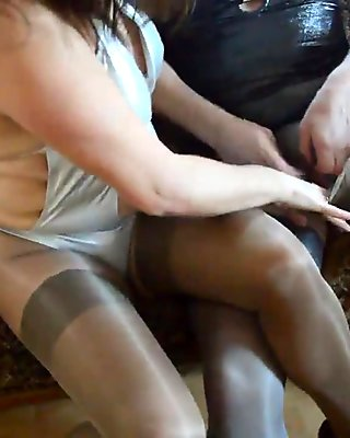 pantyhose fun !