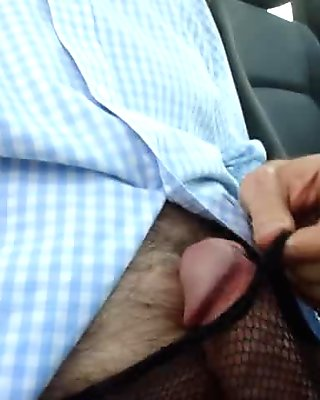Pantyhose Throbbing Cock