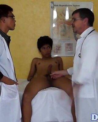 Twink asian patients skiing with MDs dicks