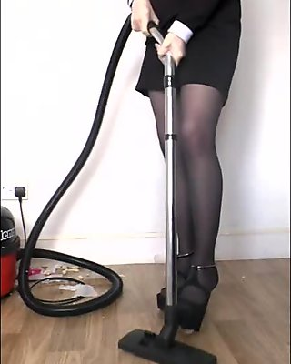 1Grey Pantyhose Hungry Vac preview