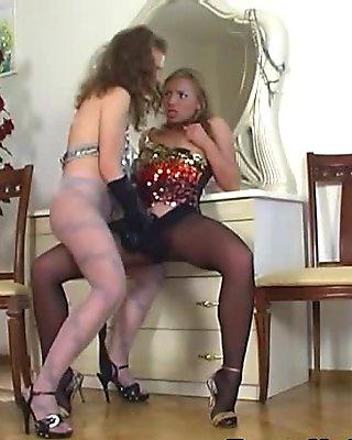 EPantyhoseLand Movie: Sylvia and Alana