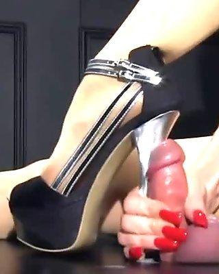 Sexiest heeljob ever