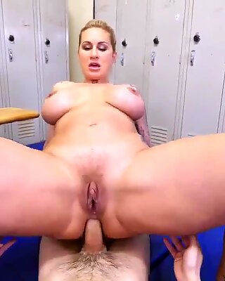 Mom tits Dominant MILF Gets A Creampie After Anal Sex