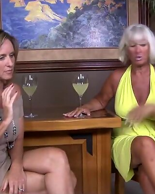 Grandma shows Mother how to give a handy