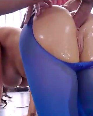 Pantyhose Playtime - Nikki Benz