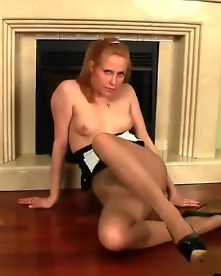 Hot Girl Wearing Pantyhose Softcore