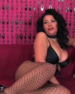 Donna Ambrose AKA Danica Collins - Layered pantyhose