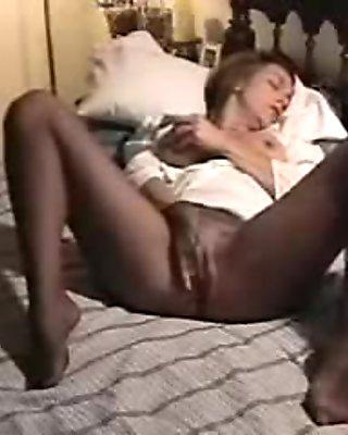 Sexy Pantyhose Masturbation