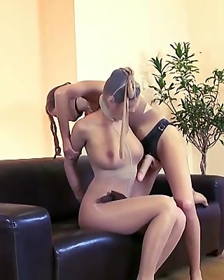Punishment For A Pantyhose Doll Part 2 of 3