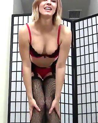 These tight fishnets make me feel like a real slut