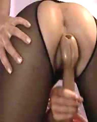Hot princess in pantyhose fingering