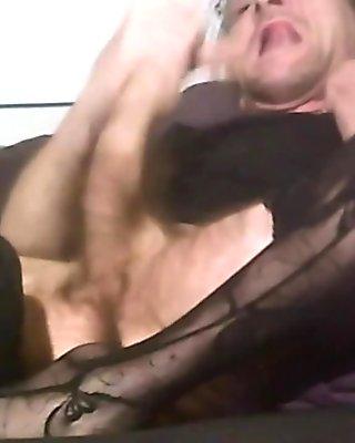 cum in my pantyhose