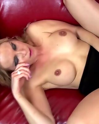 Taboo sex with blond mom and not her son