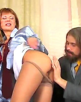 Mature guy fucks young girl