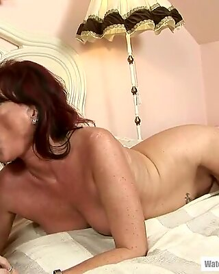 Close To Her 50th Birthday She Needs Anal!