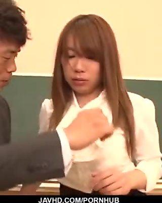Iroha Suzumura loves fucking her teacher at school