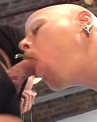 Outstanding Big Tits Pantyhose porn scene. Bon Appetit
