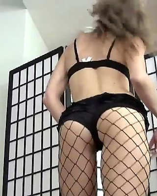 I got these fishnets as a little treat for you JOI