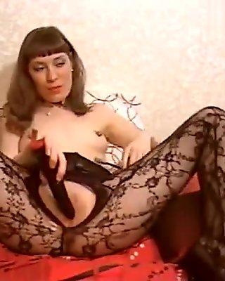 Sensualvicci in black pantyhose