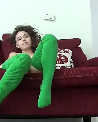I know you love it when I wear my knee high socks
