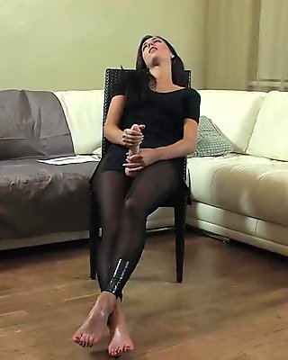Requested: Ballerina strapon fucked