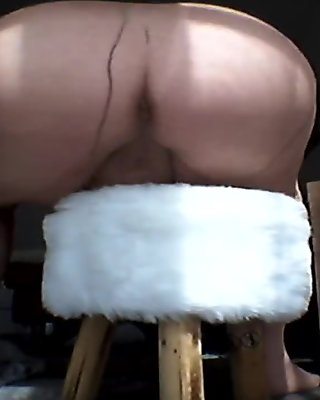 Grandma presents her pantyhose ** Nylon FUN **