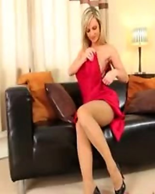 These pantyhose on incredible fairhair