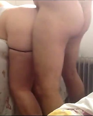 Women in pantyhose fucking with strap on film 7