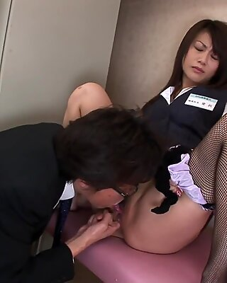 Rubbing on her pussy then sucking a hard cock