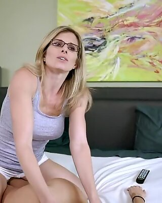 Step daughter is now the New mother - Vina Sky and Cory chase