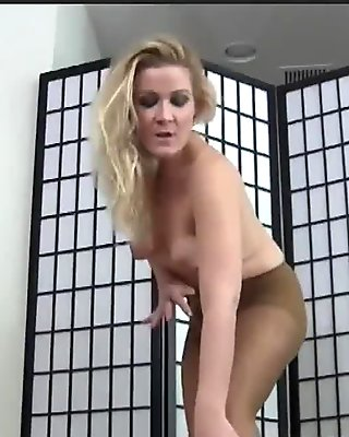 My pantyhose will make your cock nice and hard JOI