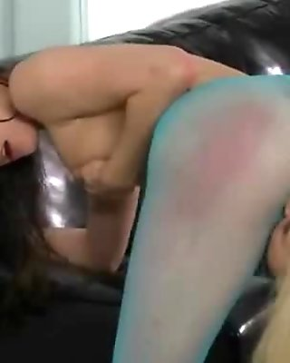 Two tight lez babes ass licking and pussy eating