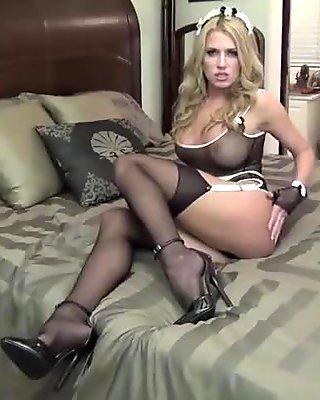 Sexy maid dress