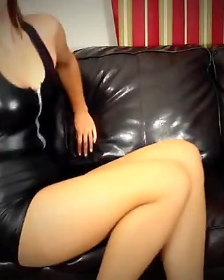 Pantyhose talk and tease
