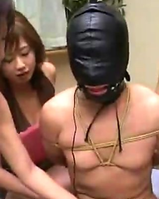 Mistresses tease slave_ slave suffers orgasm denial