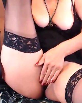 Cam girls show Nylon Feet