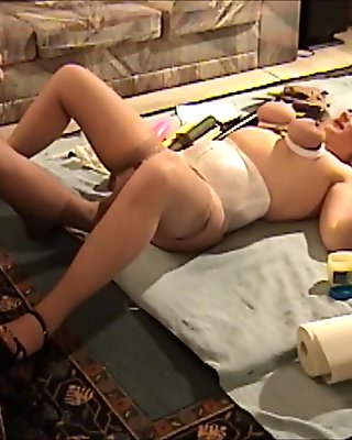 Happy to be FootFucked... NylonLisa