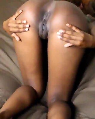 Big Black Open Pussy