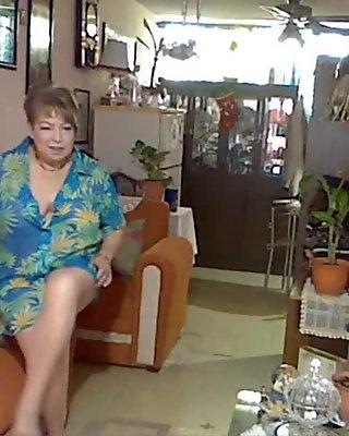pantyhose flowered celeste blouse