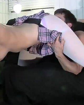 Turning the Nerd to a Slut Part 3