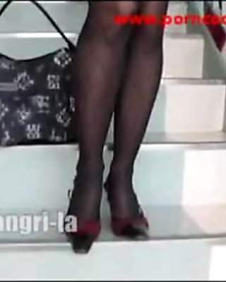 Sexy Cute Pantyhose Girl 24