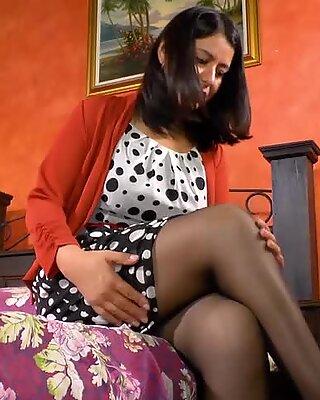 LatinChili Solo latina Granny with AgedLove Horny mature with big cock