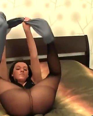 Beautiful Girl In Hot Pantyhose