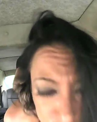 Local escort in pantyhose gets fucked by taxi driver