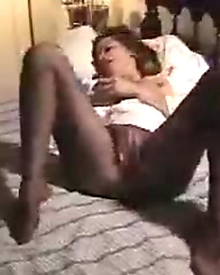 pantyhose fingering by loyalsock