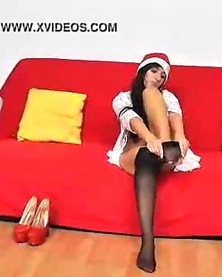 Terra Sweet perfect nylon legs
