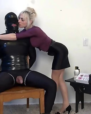 he got trapped in his Secretarys Scheme bondage, tease and denial - see more at meetbdsm69.com